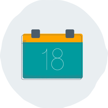 Icon for Start Date